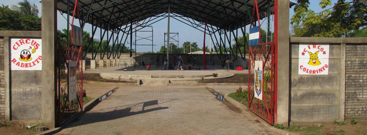 Eingang des Centro Cultural del Centro de Menores